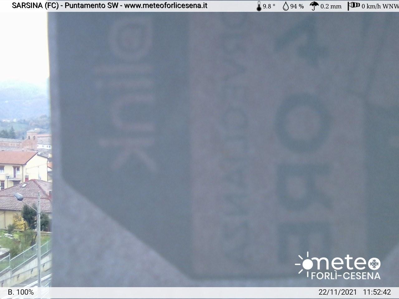 Per vedere la webcam occorre modificare le impostazioni di sicurezza per questo sito